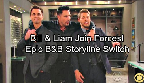 The Bold and the Beautiful Spoilers: Bill and Liam Join Forces - Epic B&B Storyline Switch