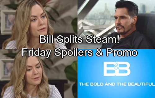 The Bold and the Beautiful Spoilers: Friday, April 27 – Bill Plots Heartbreak for Steffy and Liam – Wyatt Breaks Up Steam