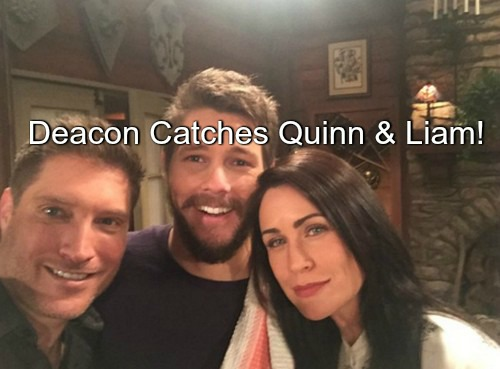 The Bold and the Beautiful Spoilers (B&B): Sean Kanan Returns - Deacon Catches Quinn with Liam, Jealousy and Plotting Ensue