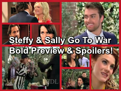 The Bold and the Beautiful Spoilers: Steffy and Sally Go to War, New Rivalry Heats Up – Katie Admits Wanting Eric