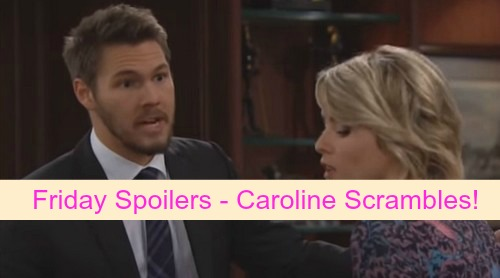 The Bold and the Beautiful (B&B) Spoilers: Liam Demands Answers About Thomas and Ridge – Caroline Scrambles to Keep Secret