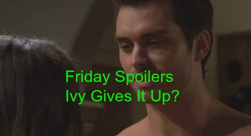The Bold and the Beautiful (B&B) Spoilers: Ivy Cheats, Accepts Invite to Thomas Bedroom - Quinn Says Ivy Just Like Hope