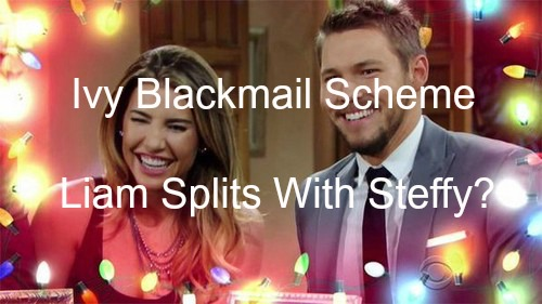 The Bold and The Beautiful (B&B) Spoilers: Stunning Ivy Blackmail Scheme - Liam Trades Passion to Save Steffy?