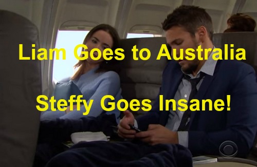 The Bold and the Beautiful (B&B) Spoilers: Liam Knocked Out on Plane, Awakens with Ivy Flying to Australia - Steffy Goes Insane