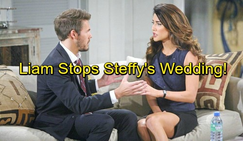 The Bold and the Beautiful (B&B) Spoilers: Liam Recovers Memory – Rushes to Stop Steffy-Wyatt Wedding – Will He Be Too Late?
