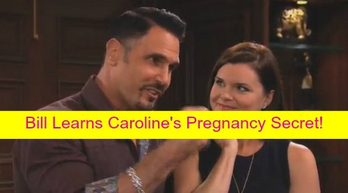 The Bold and the Beautiful (B&B) Spoilers: Caroline's Pregnancy Secret Revealed to Liam by Pam and Charlie