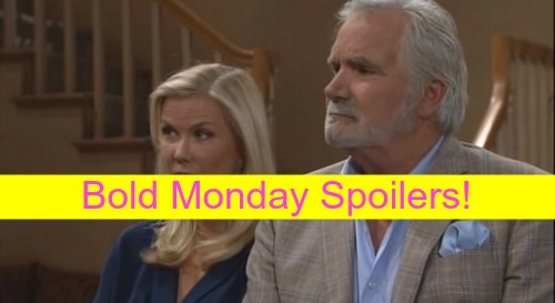 The Bold and the Beautiful (B&B) Spoilers: Brooke Warns Nicole Will Keep Baby - Julius Demands Surrogate Mom Change