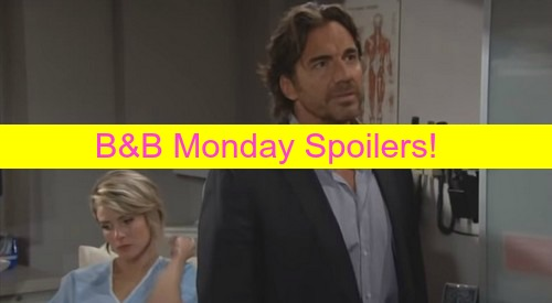 The Bold and the Beautiful (B&B) Spoilers: Thomas Spies on Caroline's Ultrasound, Ridge Tells Son Off - Baby Drama Intensifies