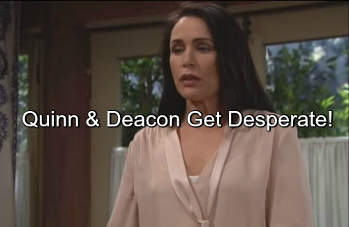 The Bold and the Beautiful (B&B) Spoilers: Deacon Joins In Quinn's Plot – Horribly Deceive Liam