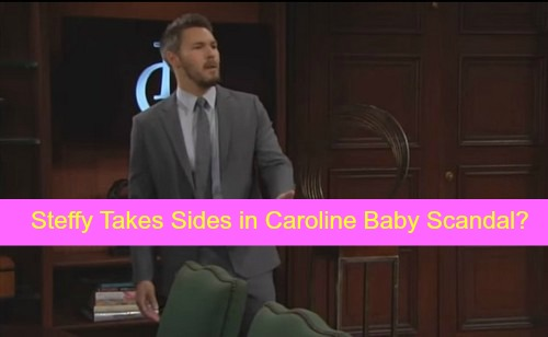The Bold and the Beautiful (B&B) Spoilers: Steffy Furious With Liam For Keeping Caroline's Baby Secret - Forced To Take Sides?