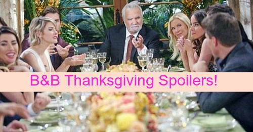 The Bold and the Beautiful (B&B) Spoilers: Thanksgiving Brings Shocking Family Drama – Eric Tries to Keep the Peace