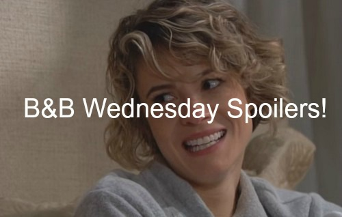 The Bold and the Beautiful (B&B) Spoilers: Thomas Suspicious, Left Out of Baby Celebration - Brooke Blows Ridge's Secret