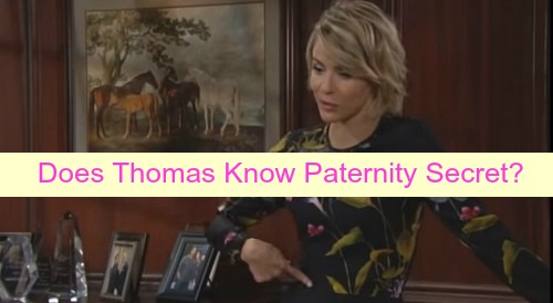 The Bold and the Beautiful (B&B) Spoilers: Does Thomas Know Baby Paternity Secret - Trying To Trap Ridge And Caroline?