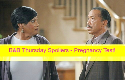 The Bold and the Beautiful (B&B) Spoilers: Nicole's Pregnancy Test Results – Thomas Confronts Ridge