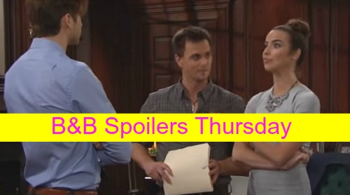 The Bold and the Beautiful (B&B) Spoilers: Thomas Flirts with Ivy, Wins Her Over - Doctor Warns Nicole About Surrogacy