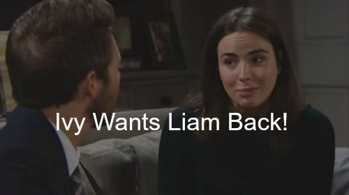 The Bold and the Beautiful (B&B) Spoilers: Ivy Wants Liam Back, Sends Steffy to Jail?