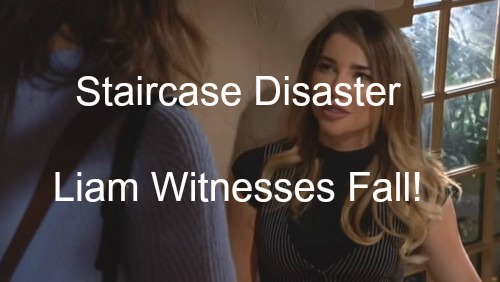 The Bold and the Beautiful (B&B) Spoilers: Frightening Staircase Fall During Steffy and Ivy's Fight – Liam Furious at Steffy