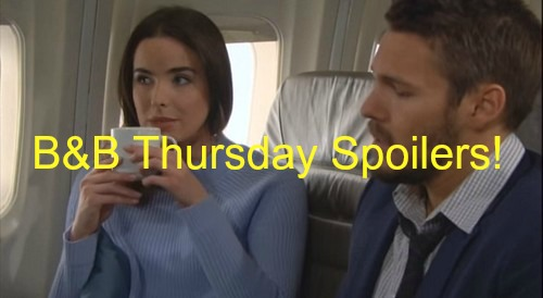 The Bold and the Beautiful (B&B) Spoilers: Ivy Takes Advantage of Liam's Accident - Zende Gets Closer to Sasha, Nicole Irked