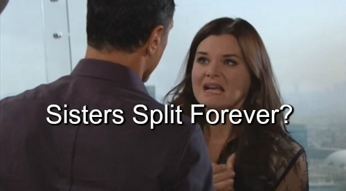 The Bold and the Beautiful (B&B) Spoilers: Brooke Cries to Eric Over Losing Sister – Katie Protects What's Hers