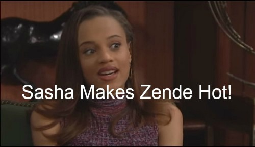 The Bold and the Beautiful (B&B) Spoilers: Sasha Preys on Zende's Desires - Chris McKenna Appears as Doctor, Katie Opens Up