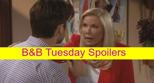 The Bold and the Beautiful (B&B) Spoilers: Thomas Demands Caroline's Baby Daddy Truth - Julius Forbids Nicole Surrogacy