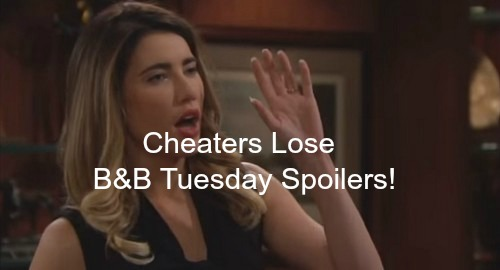 The Bold and the Beautiful (B&B) Spoilers: Steffy Disgusted With Ivy Cheating – Eric's Warm Memories Set Thankful Mood