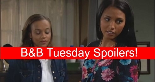 The Bold and the Beautiful (B&B) Spoilers: Pushy Steffy Causes New Ivy Injury – Sasha's Creepy Secret