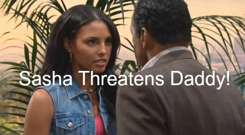 The Bold and the Beautiful (B&B) Spoilers: Sasha Furious with Daddy Julius – Ivy Blames Losing Liam for Troubles