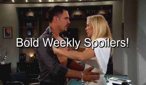 The Bold and the Beautiful (B&B) Spoilers: Katie's Marriage Ends – Quinn Busted - Zende & Nicole Decide, Greedy Sasha Lurks
