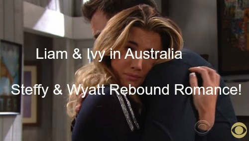 The Bold and the Beautiful (B&B) Spoilers: Steffy Stunned Liam Is in Australia – Begins Wyatt Romance on Rebound, Quinn Cheers!