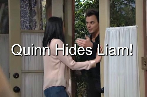 The Bold and the Beautiful (B&B) Spoilers: Quinn Scrambles to Hide Liam From Wyatt – Rick's Hatred for Ridge Bubbles Over
