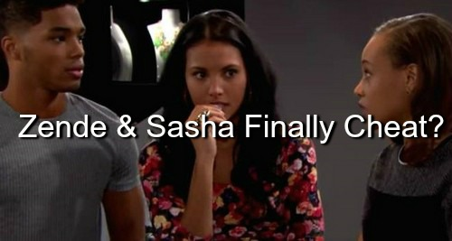 The Bold and the Beautiful (B&B) Spoilers: Zende and Nicole Split – Sasha Moves In
