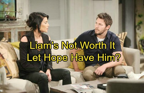 The Bold and the Beautiful Spoilers: Liam Isn't Worth Steffy's Time – Should She Should Let Hope Have Him?