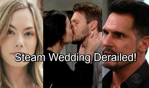 The Bold and the Beautiful Spoilers: Liam and Steffy's Wedding Derailed – Hope's Love and Bill's Threat Spark Disaster