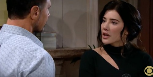 The Bold and the Beautiful Spoilers: Monday, December 18 - Liam Can't Wait to Be a Dad, Steffy Fears He Won't Be