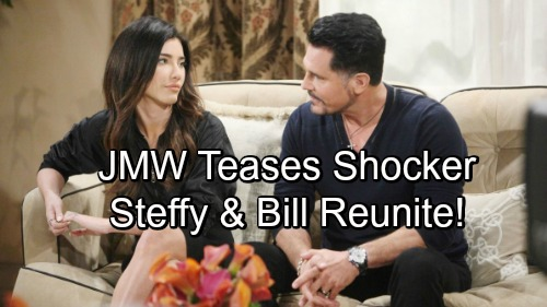 The Bold and the Beautiful Spoilers: Jacqueline MacInnes Wood Teases Bill and Steffy Reunite - Couple Not Over