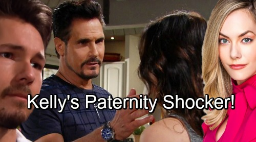 The Bold and the Beautiful Spoilers: Kelly's Paternity Shocker Overturns Storyline - Bill and Steffy's Reunion Rocks LA