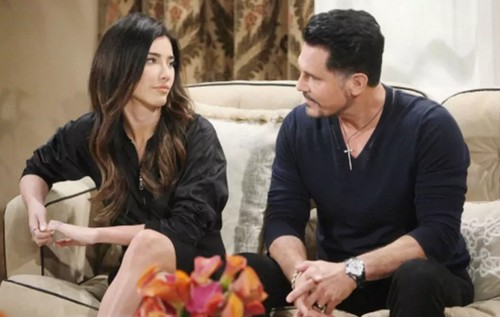 The Bold and the Beautiful Spoilers: Bill's Blast from the Past, Plays Up Romantic History with Steffy To Win Her Back