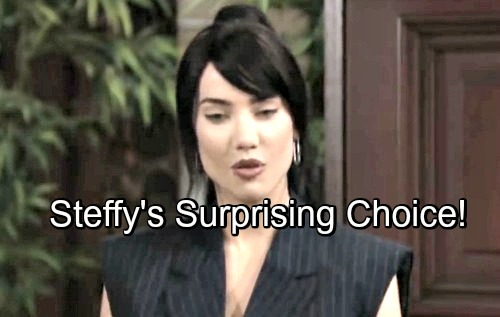 The Bold and the Beautiful Spoilers: Unexpected Storyline Twist Hurts Brooke and Hope - Steffy Chooses Kelly and Herself
