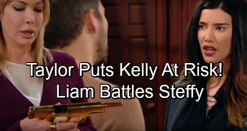 The Bold and the Beautiful Spoilers: Liam and Steffy Fierce Fight Over Taylor - Kelly At Risk As Granny Spirals Out Of Control