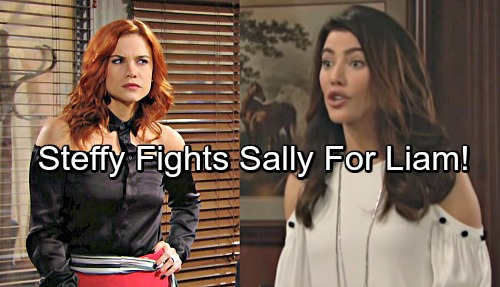 The Bold and the Beautiful Spoilers: Steffy Knows Marriage is Shaky, Fights Sally For Liam
