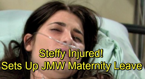 The Bold and the Beautiful Spoilers: Steffy Injured in Dark Taylor Twist – Sets Up Jacqueline MacInnes Wood's Maternity Leave Exit?