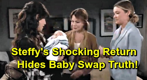 The Bold and the Beautiful Spoilers: Steffy Returns with Beth Swap Discovery - Hides The Truth, Can't Bear to Lose 'Phoebe'