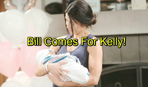 The Bold and the Beautiful Spoilers: Steffy, Liam, and Kelly Winning So Far - But Bill Plays The Paternity Card