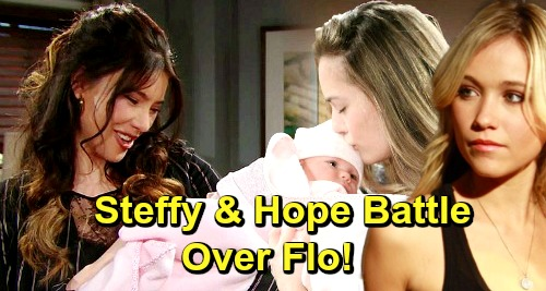 The Bold and the Beautiful Spoilers: Steffy Returns From Paris, Goes to War With Hope Over Flo