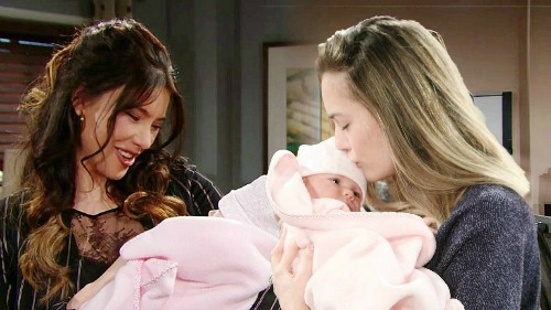 The Bold and the Beautiful Spoilers: Steffy Grants Wish - Hope Finds Comfort in Phoebe After Divorce