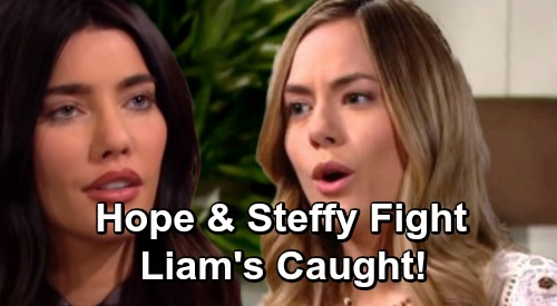 The Bold and the Beautiful Spoilers: Steffy and Hope Face Off - Fierce Argument Puts Liam In The Middle