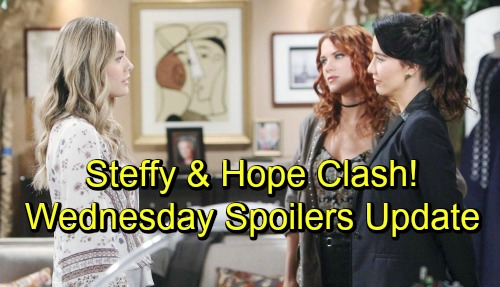 The Bold and the Beautiful Spoilers: Wednesday, September 19 Update - Hope and Steffy Clash - Bill's Custody Strategy Upsets Ridge
