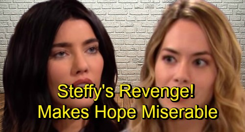 The Bold and the Beautiful Spoilers: Steffy Makes Hope's Life Miserable - Bitter Revenge Spirals Out of Control