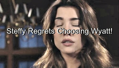 The Bold and the Beautiful (B&B) Spoilers: Steffy Feels Stuck with Runner-Up Wyatt – Liam Turns to Ivy, Prompts Jealousy
